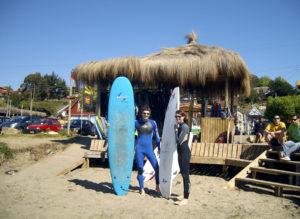 Working Holidays in einer Surfschule